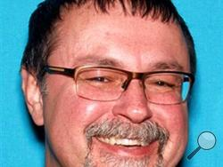 FILE - In this undated file photo released by the Tennessee Bureau of Investigations shows Tad Cummins in Tennessee. Authorities said a 15-year-old Tennessee girl who disappeared with Cummins, who was her teacher, last month has been found safe in California and the teacher has been arrested. (Tennessee Bureau of Investigations via AP, File)