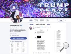 This image of Donald Trump Jr.'s Twitter account shows a series of direct messages he received from the Twitter account behind the WikiLeaks website, including his responses to the communications, which he posted on Monday, Nov. 13, 2017. The direct messages had been turned over to congressional committees investigating Russian intervention in the 2016 election and if there were any links to Donald Trump's campaign. Trump Jr.'s release of the messages on Twitter came hours after The Atlantic first reported