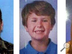 This composite photo released by the San Diego Sheriff's Department shows James Lee Dimaggio, 40, left, Ethan Anderson, 8, and Hannah Anderson, 16, whose mother, Christina Anderson, 44, was one of two people found dead in a house fire Sunday night. Dimaggio, suspected of killing the woman may have abducted the children. (AP Photo/San Diego Sheriff's Department )