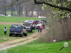 This was the scene Saturday, May 3, 2014, as state police notified the families of two adults and three children who were found dead in a cabin in rural Washington Township by a friend sometime in the late morning. State Police Capt. David Young said the preliminary investigation showed no signs of foul play and the cause of the deaths was not considered suspicious. But state police are looking at all possibilities, including carbon monoxide poisoning, he said. A propane heater was found inside the cabin.