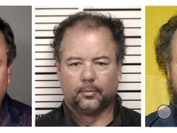 In this photo combination of photos provided by, from left, the Cleveland Police Department, Cuyahoga County Jail and Ohio Department of Rehabilitation and Corrections, Ariel Castro is shown. Castro, who held three women captive for a decade, committed suicide, Tuesday, Sept. 3. (AP Photo)