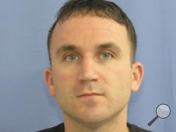 This photo shows ex-cop Anthony Gall, who is reportedly on the run from police after a shooting in Mount Carmel early Tuesday.