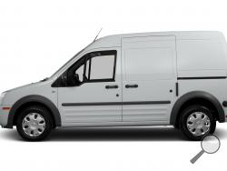A van similar to this one was stolen from Home Depot on Tuesday. (Image courtesy Hemlock Township Police)