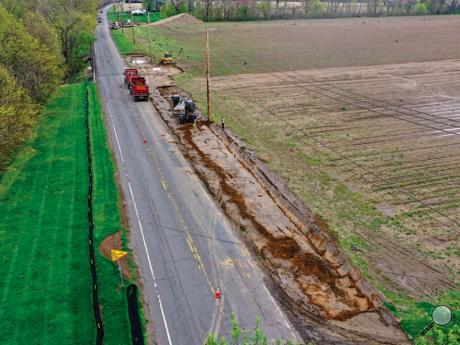 Work continues on resurfacing, shoulder improvements and bridge extensions of Route 339 in Mifflin Township from Mifflinville to Smith Hollow Road. The shoulder improvements are intended to better accommodate traffic on Route 339 when it is diverted from Interstate 80.