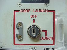 "This 2002 file photo provided by the National Park Service shows the launch key mechanism at the deactivated Delta Nine Launch Facility near Wall, S.D. The Air Force stripped an unprecedented 17 officers of their authority to control _ and if necessary launch _ nuclear missiles after a string of unpublicized and unacceptable failings, including a potential compromise of missile launch codes. The group's deputy commander said it is suffering ""rot"" within its ranks. The tip-off to trouble was a March 2013 ins"