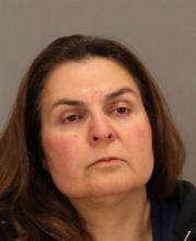 Ramineh Behbehanian, 50, is facing attempted murder charges after authorities say she tried to sneak orange juice bottles spiked with rubbing alcohol inside a Starbucks. San Jose police released additional details about the case on Tuesday. They say Behbehanian fled when a customer alerted store staff that she saw Behbehanian remove two bottles of orange juice from her bag and place them in a refrigerated display case on Monday. (AP Photo/San Jose Police Dept.)