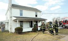 Berwick firefighters knocked down a kitchen blaze at this home on Fairview Ave in the Borough Friday morning.