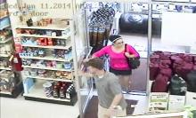 An image from surveillance camera footage at Cole's Hardware provided by the Scott Township Police.