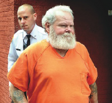 Timothy Lewis is shown outside a prior hearing. (File photo)
