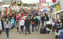 A scene from the 2016 Bloomsburg Fair. (Press Enterprise file photo)