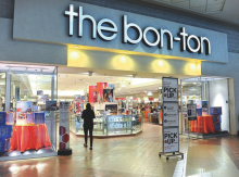 The Bon-Ton store, located in the Columbia Mall in Buckhorn, will close as part of the liquidation of the chain, the company CEO announced Tuesday. (Press Enterprise/Keith Haupt)