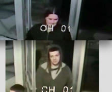 Two suspects who vandalized a laundromat and stole change from it have been identified by authorities as Amber Hornberger and Robert Johnson.